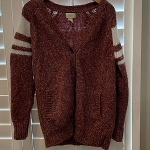 FOREVER 21 maroon cardigan!